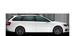 SKODA Octavia RS Комби 2017-2021 новый кузов комплектации и цены