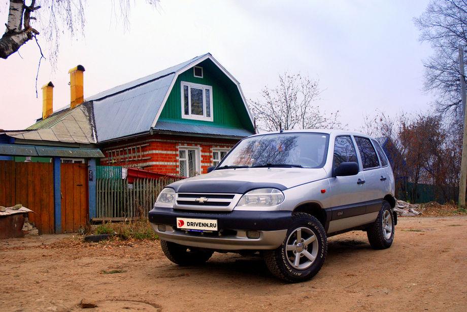 Chevrolet Niva фото