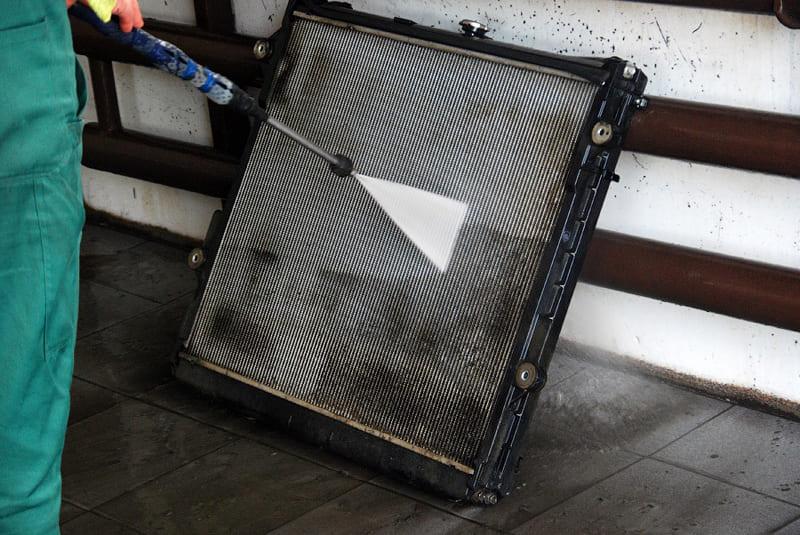 мойка радиатора фото