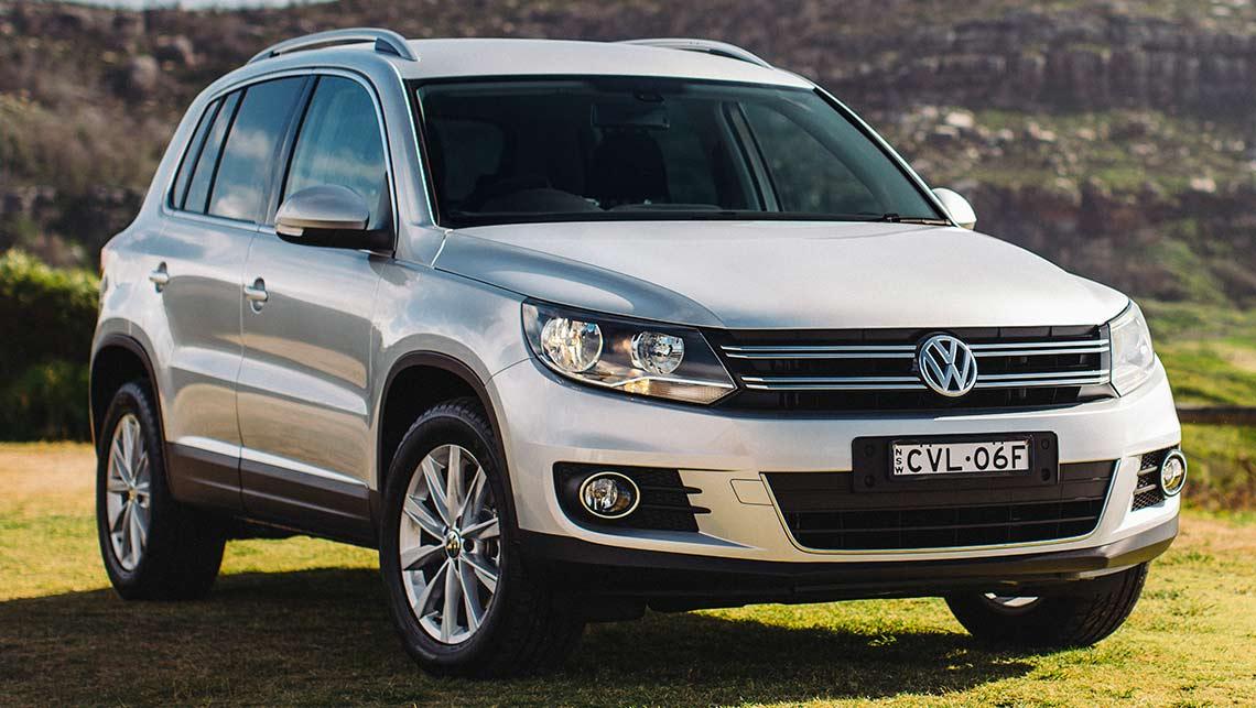 Кроссовер VW Tiguan до 699000