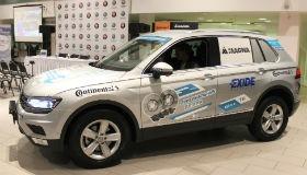 Мировой рекорд Volkswagen Tiguan и Райнера Цитлоу