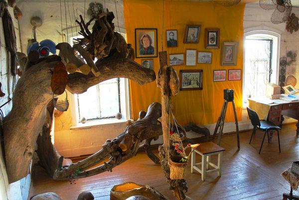 Экспонаты музея Бориса Федоровича Фомина