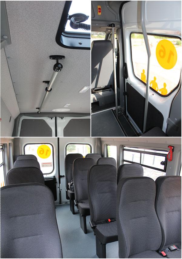 Особенности салона автобуса ГАЗель НЕКСТ
