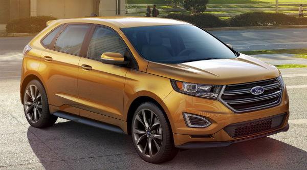 новый ford edge фото
